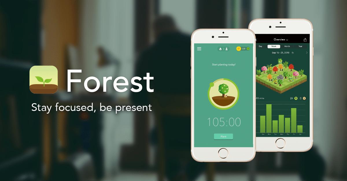 Forest aplikacija – Pomoć u borbi protiv odugovlačenja
